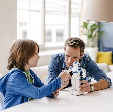 toddlers' robot toy