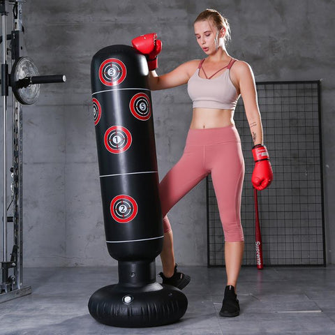 stand up punching bag