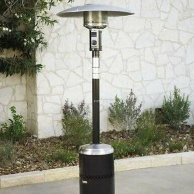 Infernode Outdoor Propane Patio Heater Gas Fire Pit Large Heater