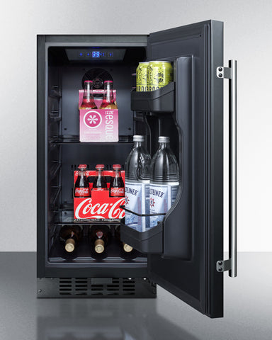 """Summit 15"""" Wide Built-In All-Refrigerator"""