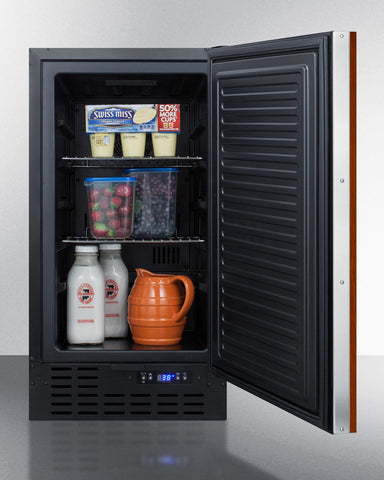 """Summit 18"""" Wide Built-In All-Refrigerator"""