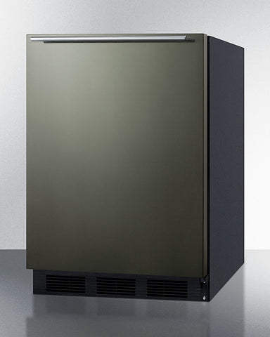 """Summit 24"""" Wide Built-In All-Refrigerator With Horizontal Handle ADA Compliant"""