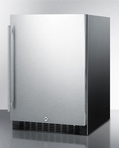 """Summit 24"""" Wide Frost-Free Built-In All-Refrigerator"""