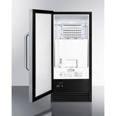 Summit Built-In 50 lb. Clear Icemaker
