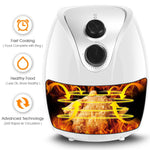 Touch Screen Air Fryer Digital Electric Small Healthy Deep Hot Air Fryer - Morealis