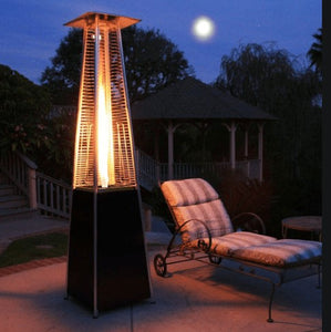 Luminesce Outdoor Propane Patio Heater Gas Fire Pit Space Heater - Morealis