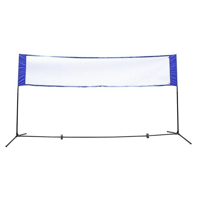 "Portable Volleyball Net Pool Outdoor Backyard Beach Badminton Net 10"" x 5"" - Morealis"