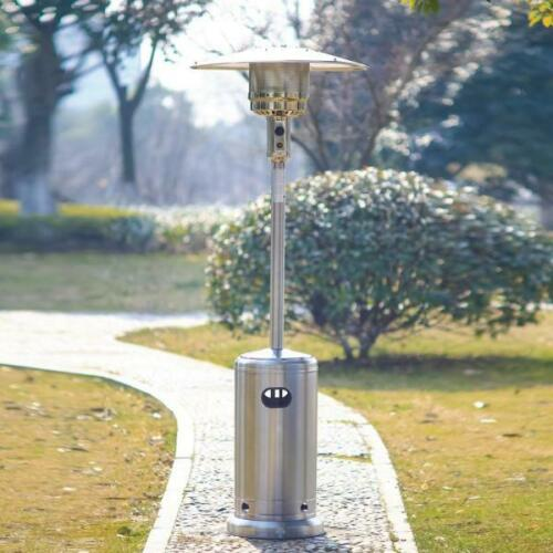 Portable Outdoor Patio Heater Propane Gas Fire Pit Space Heater 48000BTU - Morealis