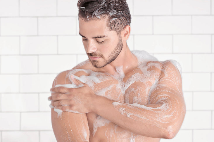 How To Use - Men's Bar Soap
