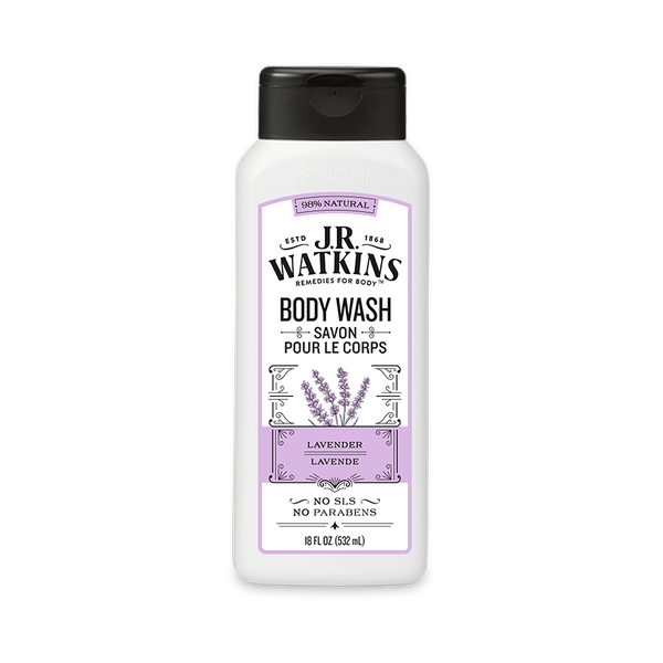 Body Wash, Daily Moisturizing, 18 fl oz, Lavender