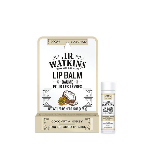 Lip Balm, Stick, .15 oz, Coconut, Peg