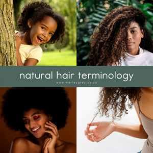 Natural Hair Terminology
