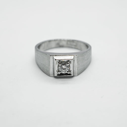 Platinum and diamond ring - RNGDIA0022