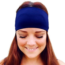 Load image into Gallery viewer, Unisex Sweatband Stripe Sporting Fitness Stretch Headband Hair Band Sweat Absorbing Headband Hearband New Style Protector