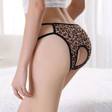 Load image into Gallery viewer, Women Crotchless G-String Briefs Lingerie Knickers Panties Underwear GY