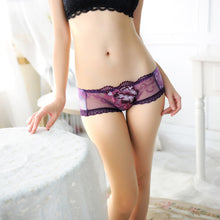 Load image into Gallery viewer, Women Sexy Lace Briefs Panties Thongs G-string Lingerie Underwear