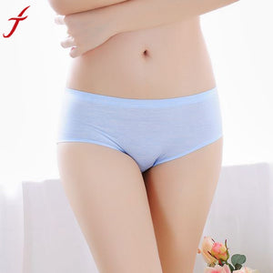2017 Sexy Intimates Women Underwear Breathable Seamless One Size Slimming Lingerie Briefs For Ladies Women Brand Panties