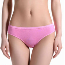 Load image into Gallery viewer, Travel Disposable Briefs Women Cotton Panties Underwear