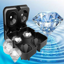 Load image into Gallery viewer, Diamond-Shaped Ice Cube Tray Silicone Easy Release