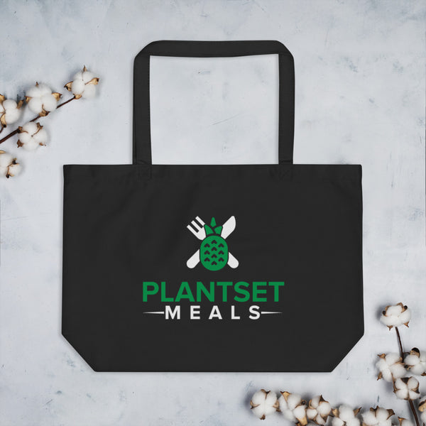 PlantSet Meals Large organic tote bag