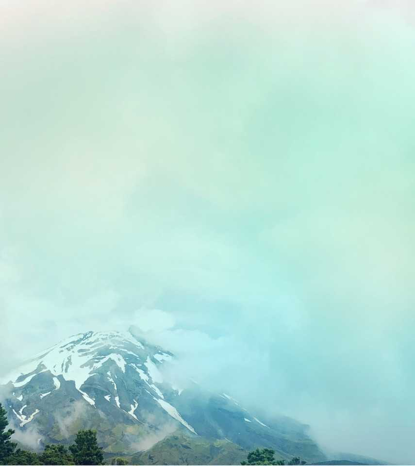 Mt. Rainier on a cloudy day by WEND Jewelry