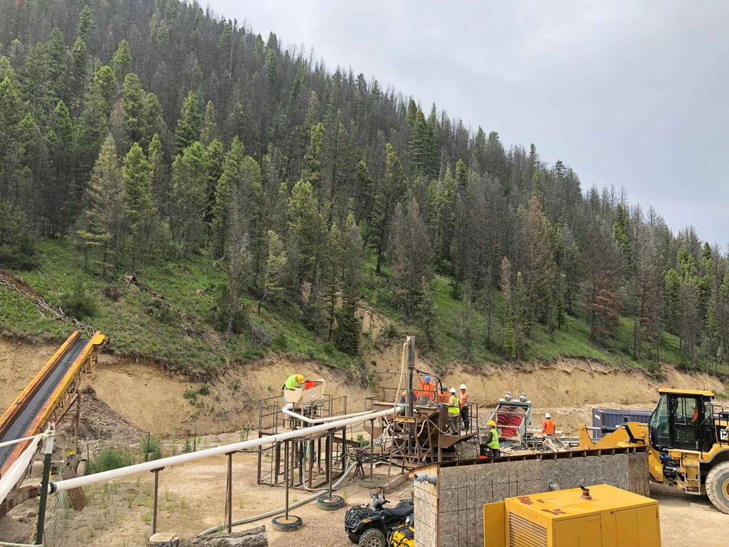 Potentate Mine Site in Montana for Montana Sapphires