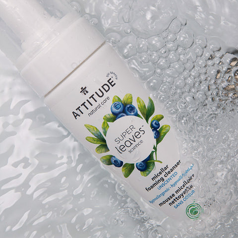 ATTITUDE Micellar foaming cleanser Unscented