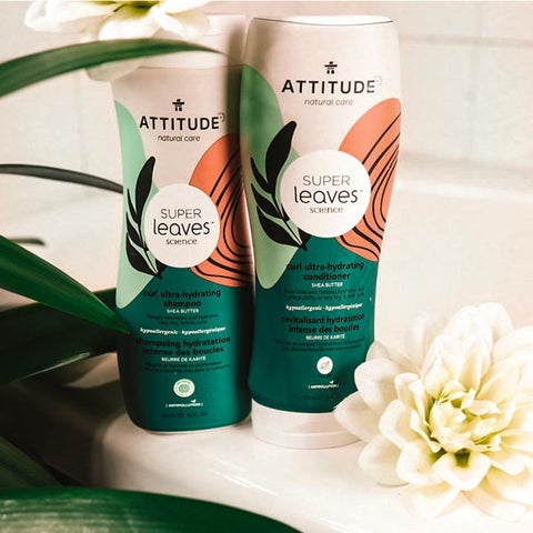 ATTITUDE Living shampoos and conditioners for curly and coily hair