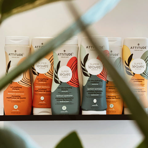 ATTITUDE line of products for curly hair