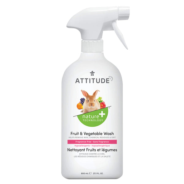 ATTITUDE Nature+ Fruit & Vegetable Wash Fragrance-Free _en?_main?