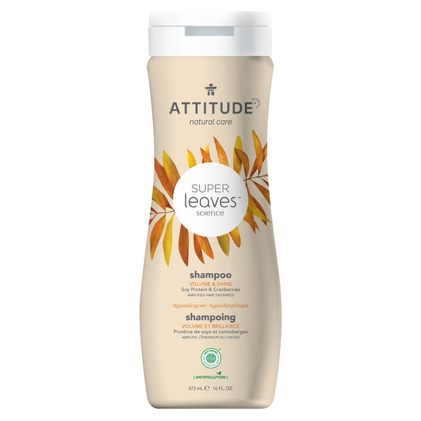 ATTITUDE Super leaves™ Shampoo Volume & Shine Amplifies hair thickness _en?_main?