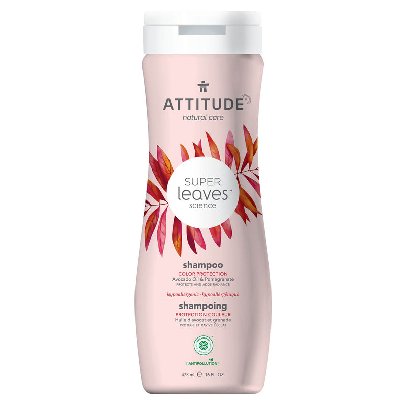 ATTITUDE Super Leaves Shampoo Color Protection Protects and adds radiance 11094_en?_main?