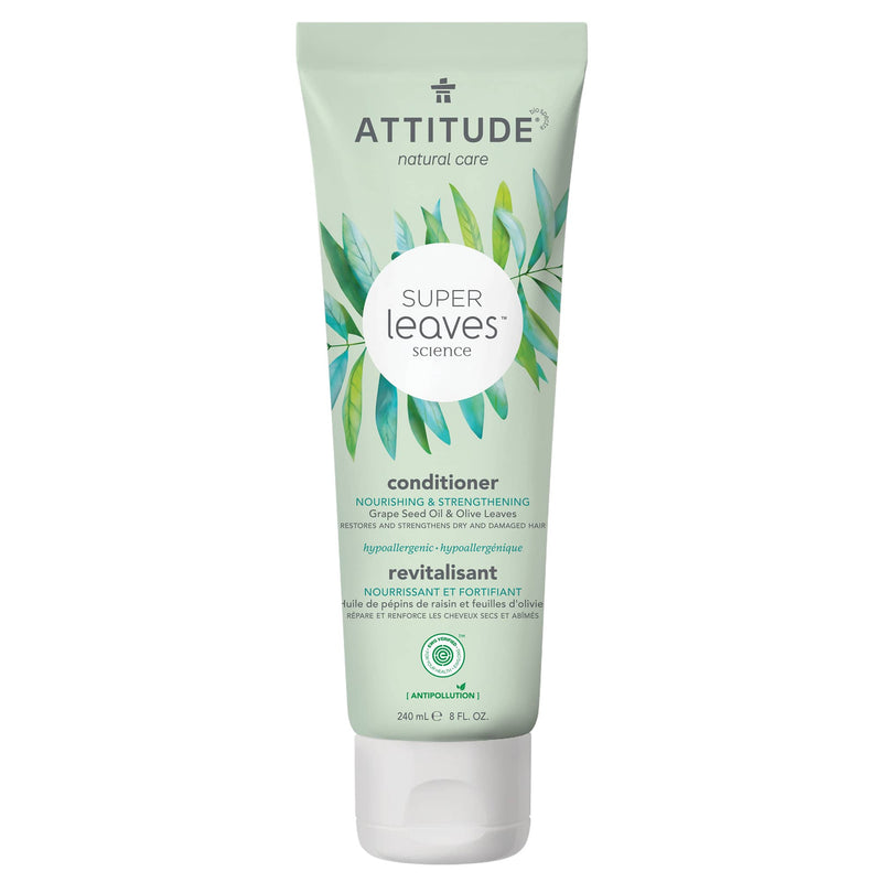 ATTITUDE Super Leaves Conditioner Nourishing & Strengthening : Super leaves™ : Restores and strengthens dry and damaged hair 11193_en?_main?