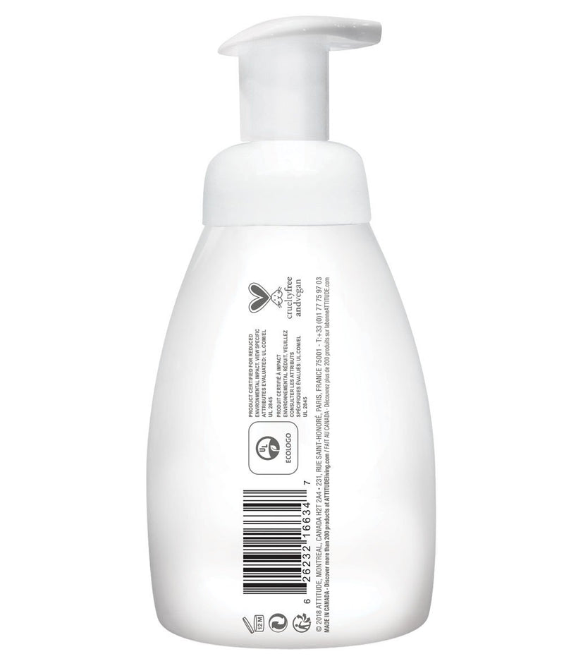 ATTITUDE  baby leaves™  2-in-1 Hair and Body Foaming Wash   Sweet Apple _en?_side?