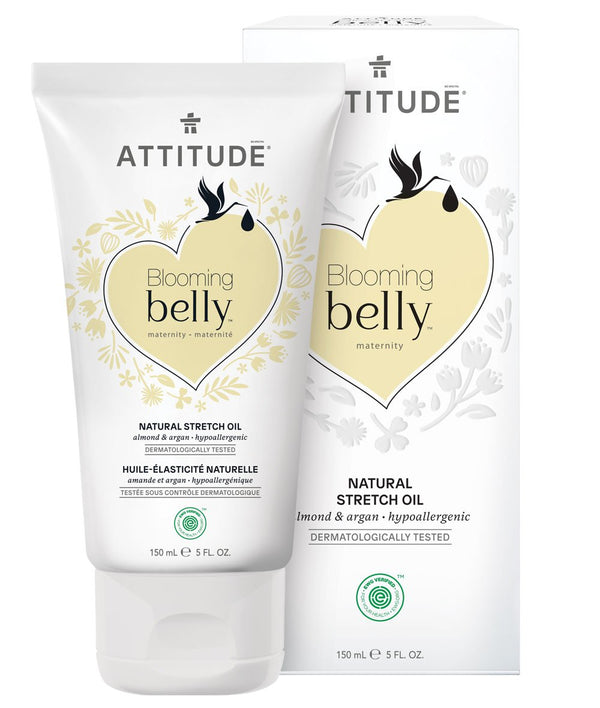 ATTITUDE  Blooming belly™  Pregnancy Stretch Marks Oil   Almond & Argan _en?_main?