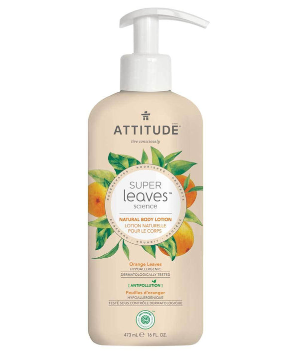 ATTITUDE  Super leaves™  Body Lotion Energizing   Orange Leaves _en?_main?