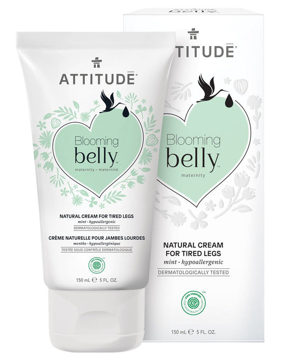 ATTITUDE  Blooming belly™  Cream For Tired Legs   Mint _en?_main?
