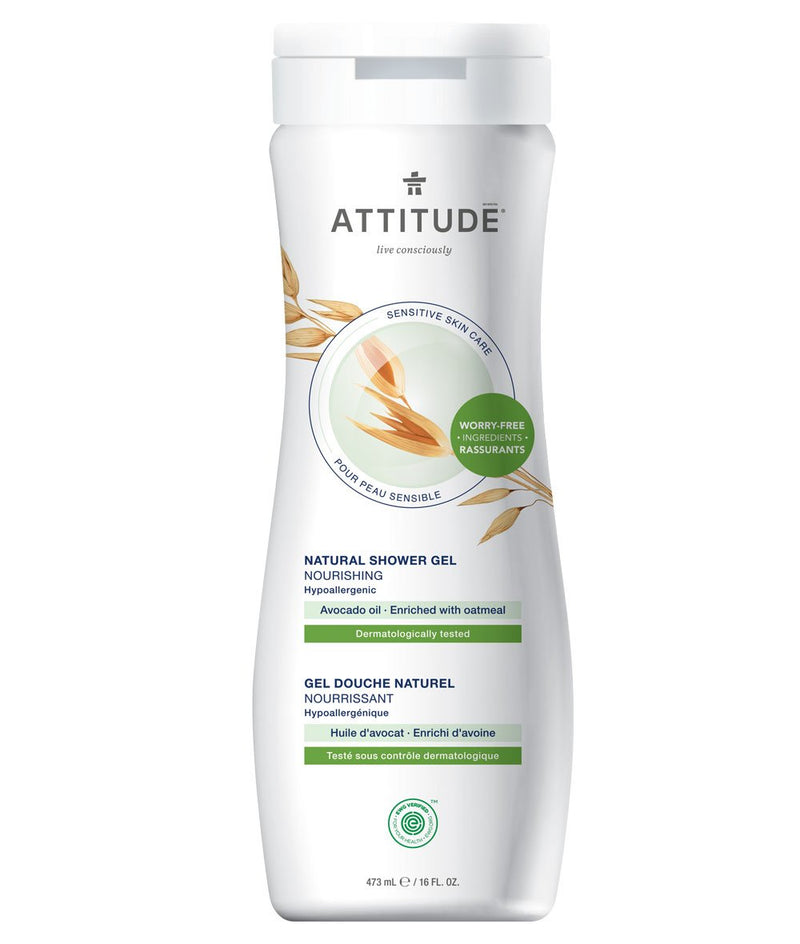 ATTITUDE  Sensitive skin  Nourishing Shower Gel   Avocado oil _en?_main?