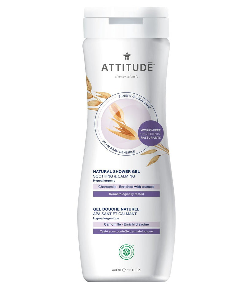 ATTITUDE  Sensitive skin  Soothing & Calming Shower Gel   Chamomile _en?_main?