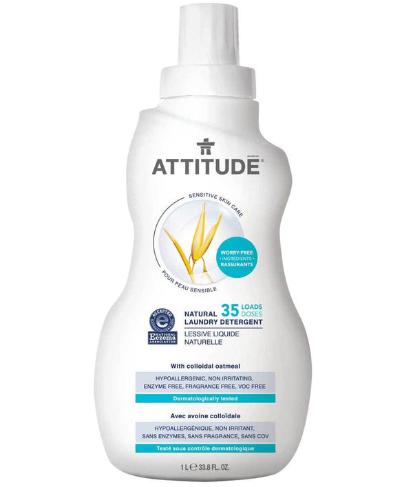 ATTITUDE  Eczema Solution  Laundry Detergent   Fragrance-free _en?_main?