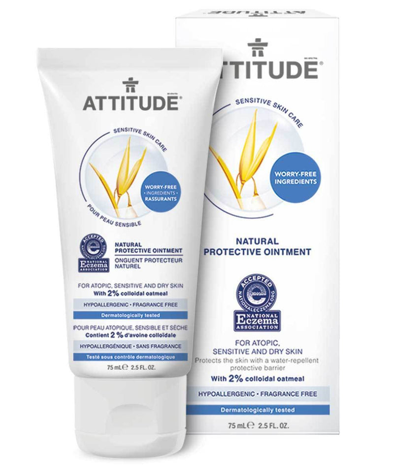 ATTITUDE  Eczema Solution  Protective Ointment   Enriched with oatmeal _en?_main?