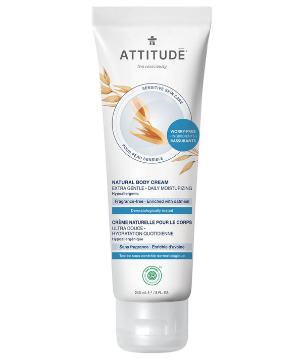 ATTITUDE  Sensitive skin  Extra Gentle Body Cream   Daily Moisturizing _en?_main?