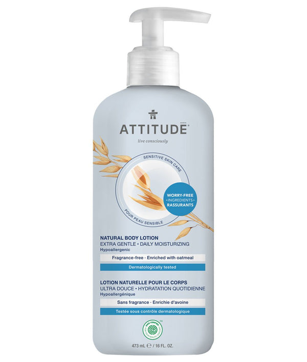 ATTITUDE  Sensitive skin  Extra Gentle Body Lotion   Daily Moisturizing _en?_main?