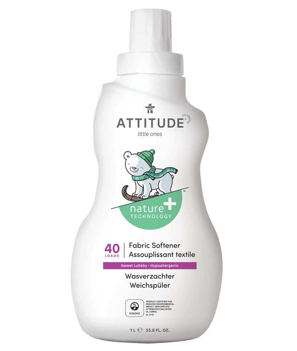 ATTITUDE  Nature+  Baby Fabric Softener   Sweet Lullaby _en?_main?
