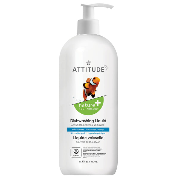 ATTITUDE Nature+ Dishwashing Liquid Wildflowers _en?_main?