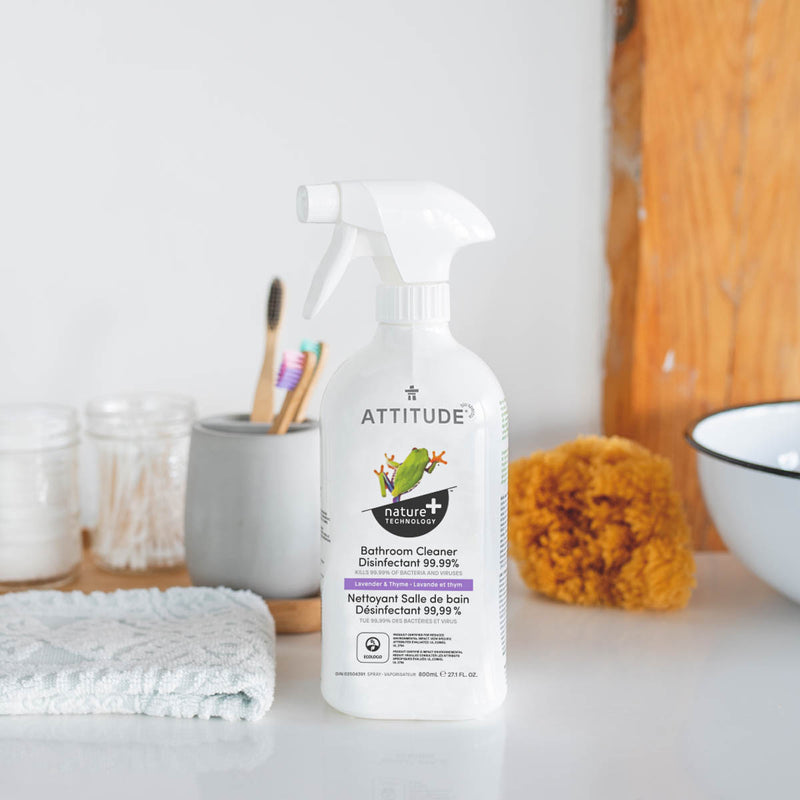 ATTITUDE Nature+ Bathroom Cleaner Disinfectant Lavender Thyme 10482 _en?_context?