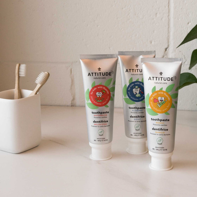 ATTITUDE Natural Toothpaste with fluor for kids Mango_en?