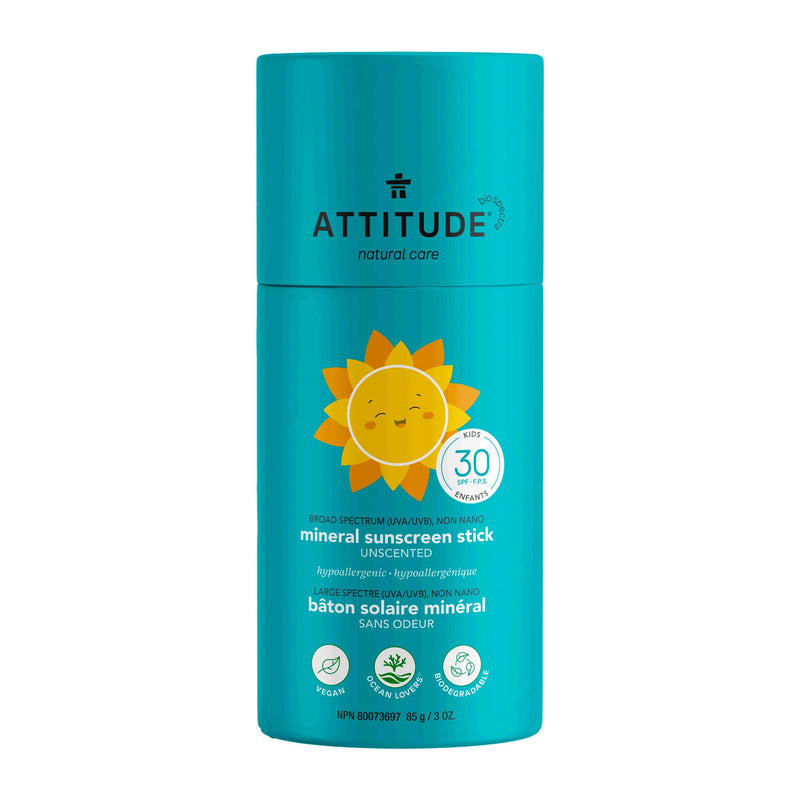 ATTITUDE Baby & Kids  Sunscreen Stick SPF 30  00% mineral fragrance free 16038_en?_main?