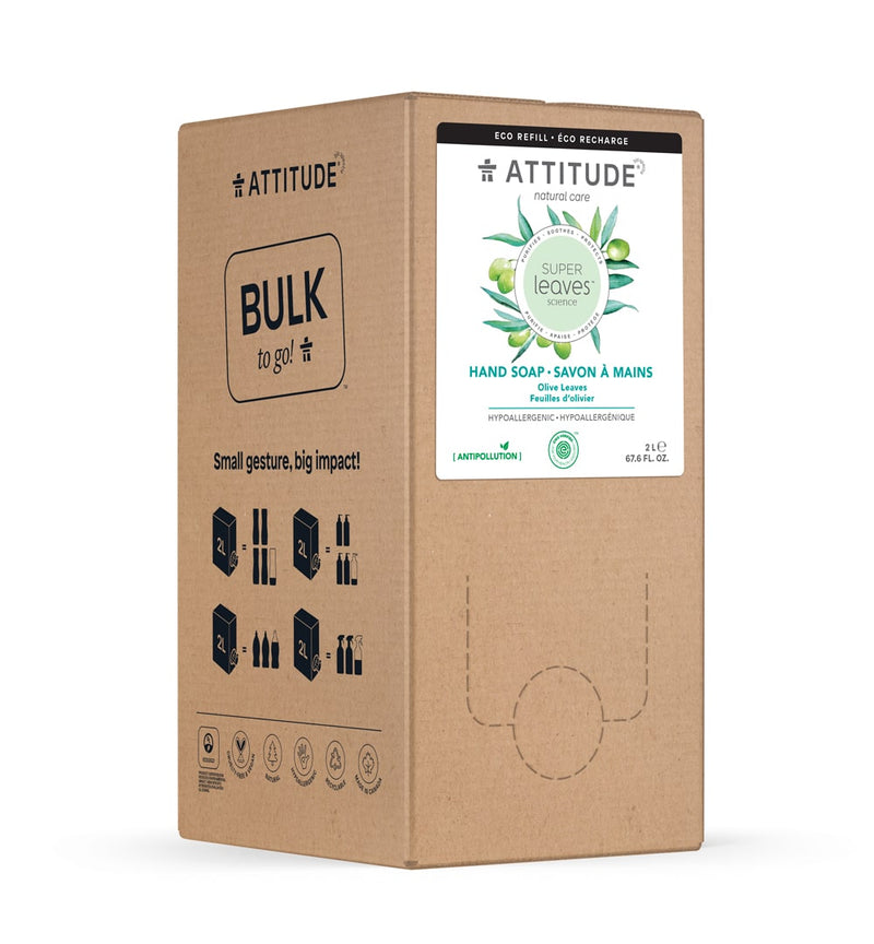 ATTITUDE Super leaves™ Eco-Refill Liquid Hand Soap Olive Leaves _en?_bulk?