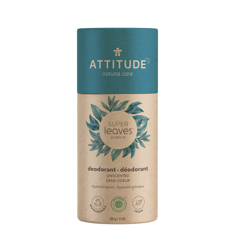 ATTITUDE Super leaves Biodegredable Deodorant Unscented _en?_main?